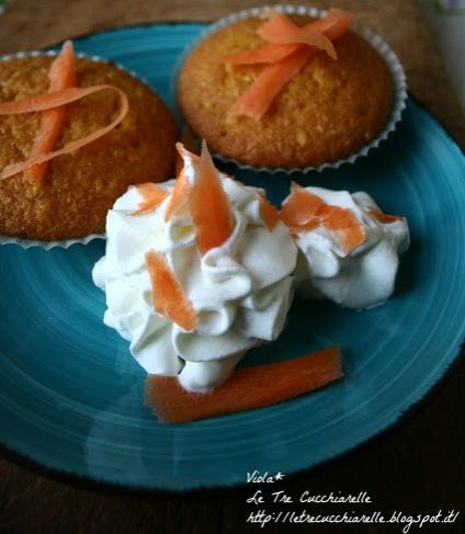 Muffin alla carota - Carrot muffins