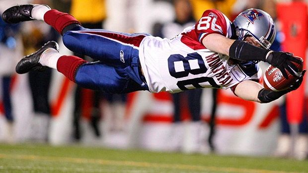 Ben Cahoon is one of seven luminaries to be inducted into the Canadian Football Hall of Fame at a Montreal gala on Saturday.