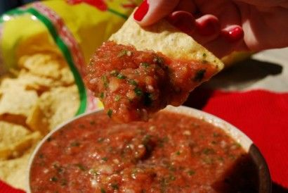 5-minute Restaurant Style Salsa | Tasty Kitchen: A Happy Recipe Community!