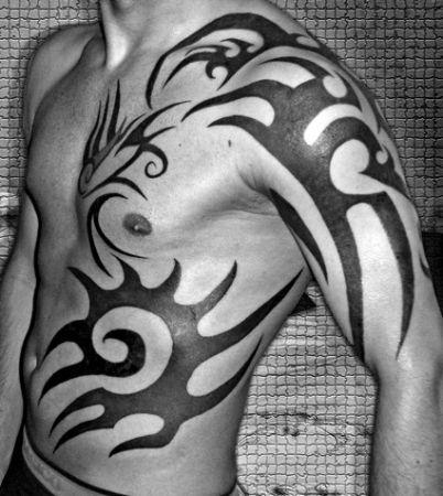 Best 25+ Men tribal tattoos ideas on Pinterest | Polynesian tattoo ...