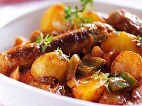 Tasty sausage casserole (slimming world friendly)