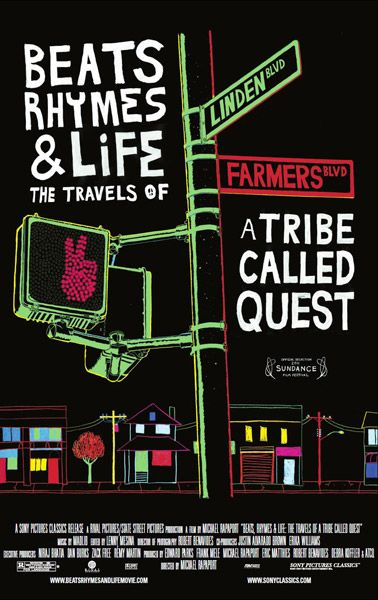 Throwback May 24, 2011: A Tribe Called Quest's Beats, Rhymes & Life Film Poster + Production Stills