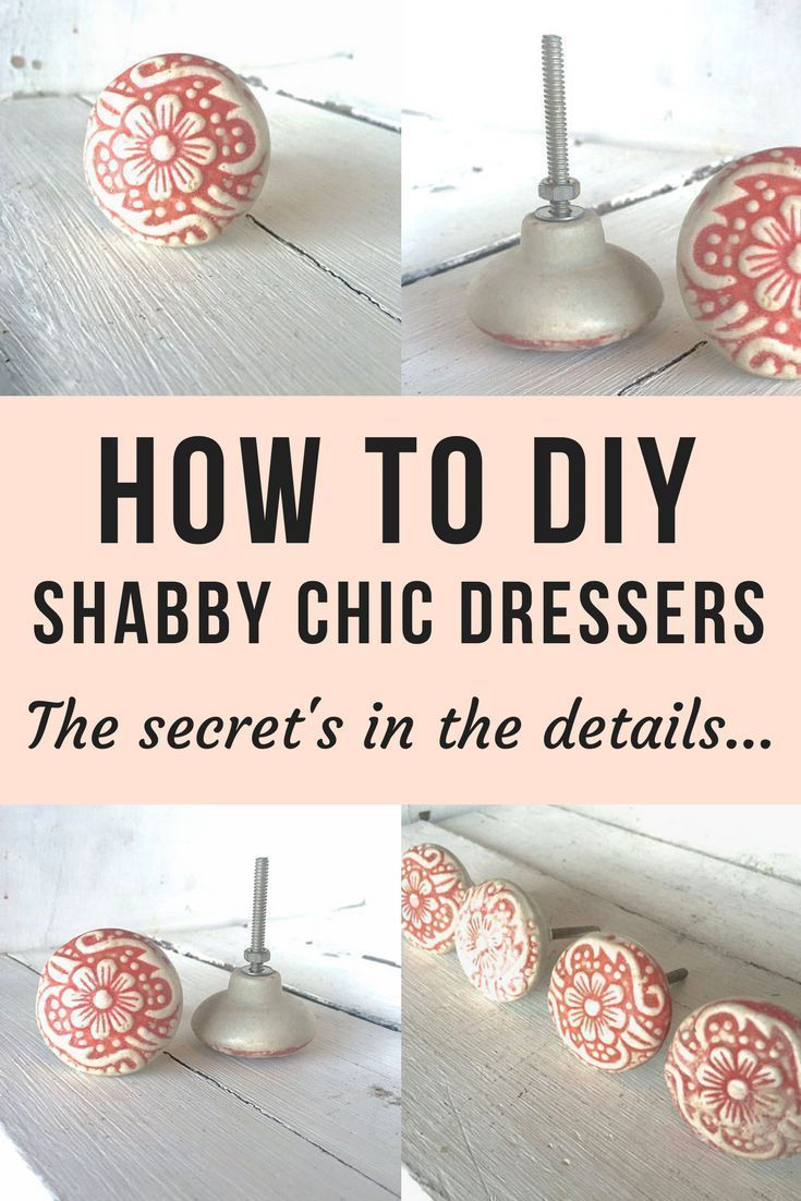 Shabby Chic Dressers Are So Cute And