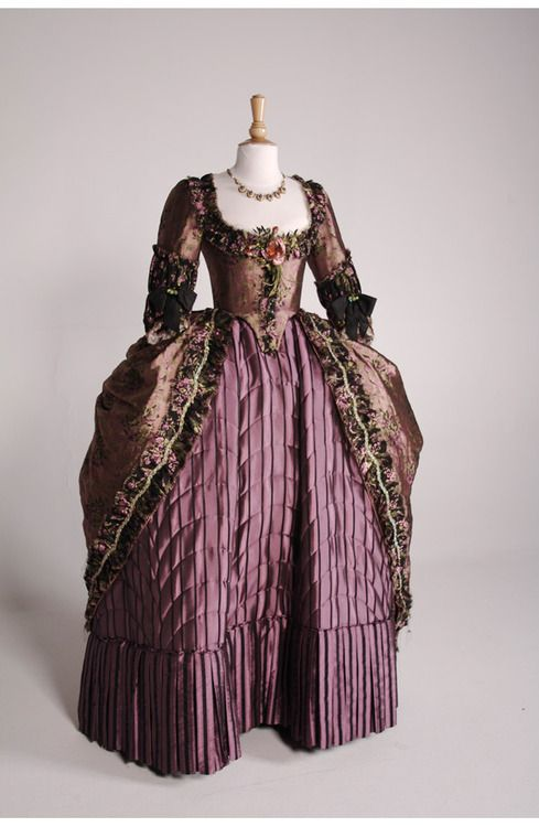 "Costume designed by Michael O'Connor for Keira Knightley in ""The Duchess"" (2008)."