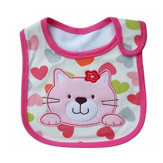 Детские нагрудники с милым рисунком одежда для малышей Водонепроницаемый слюнявчик хлопок Fit От 0 до 3 лет Детские отрыжка ткани Кормление ребенка купить на AliExpress