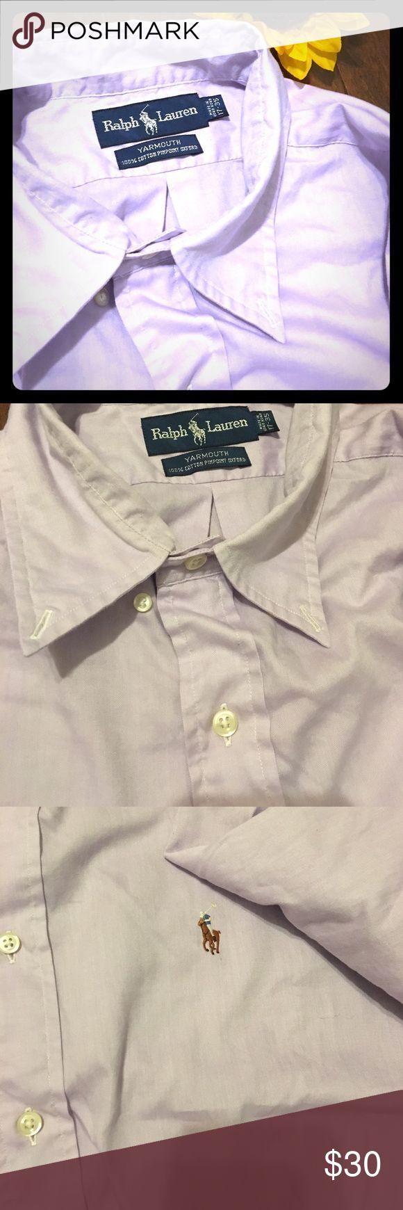 Light purple dress shirt Light purple genuine Ralph Lauren dress shirt ⭐️Great condition! Pet and smoke free home.🌻 Price is always negotiable 😊 Polo by Ralph Lauren Shirts Dress Shirts