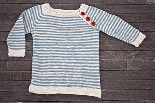 Ahoy! Baby Alpaca Pullover - an improvised pattern. Knitted from bottom up.  Used a stockinette rolled edge from this pattern: https://www.purlsoho.com/create/2016/05/...