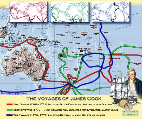 james cook project joshs site