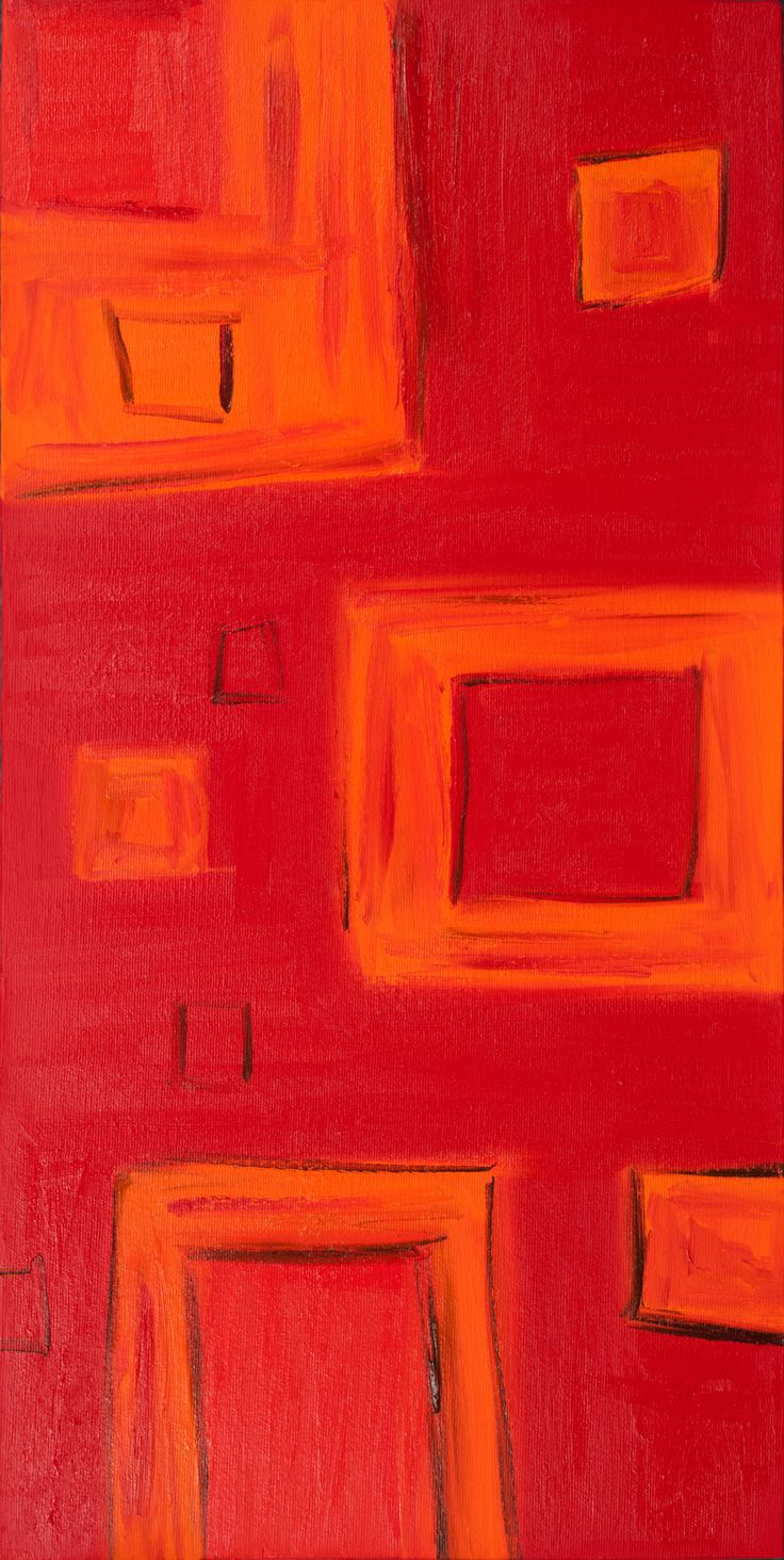 """Positive Abstract Fine Art """"STOPPED FOR A MOMENT"""""""
