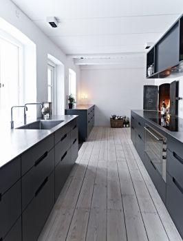 Køkken Antracit