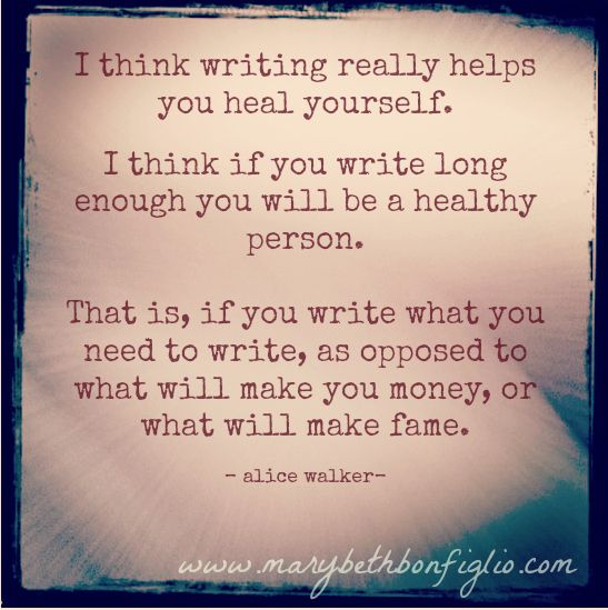 #writing #write #alicewalker