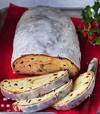 Stollen - Pão de Natal Austríaco - Máquina de Pão