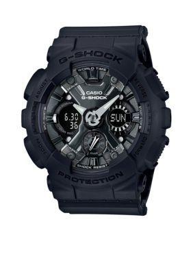 G-Shock Black Mens Black S-Series G-Shock Watch