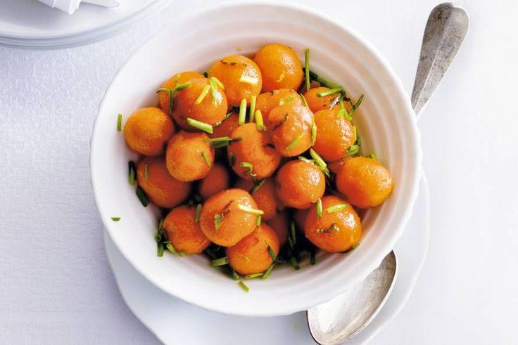 Geglaceerde worteltjes - Recept - Allerhande - Albert Heijn