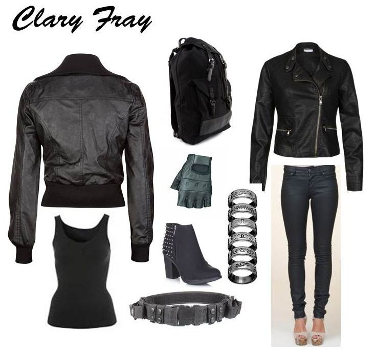 clary fray dress1 How to Look Like a Shadowhunter