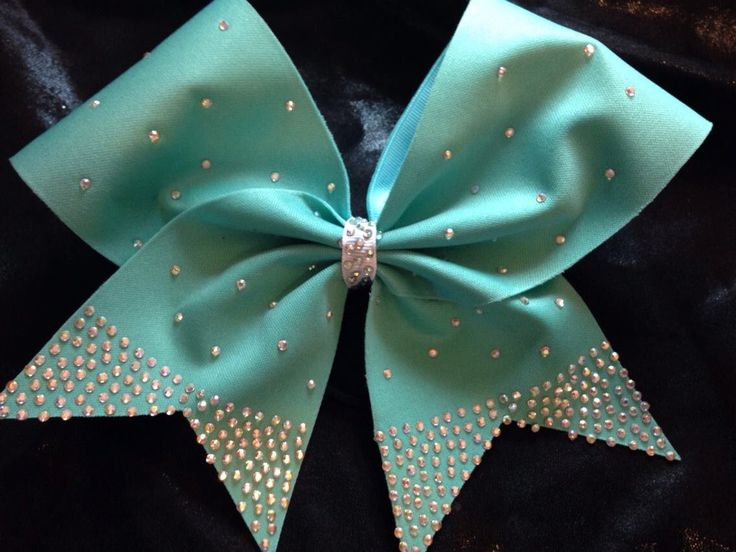 Hair bow, cheer bow, rhinestone bow, blue by blingitonbows1 on Etsy https://www.etsy.com/listing/184321515/hair-bow-cheer-bow-rhinestone-bow-blue