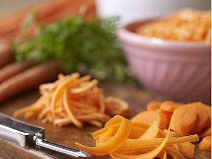 Available year-round, carrots are one of those versatile vegetables that can be fixed any number of different ways. But roasting, braising, or slow sautéing brings out even more of this vitamin A-rich vegetable's natural sweetness. Kitchen tip: don't store near apples, which give off a gas that makes carrots bitter.