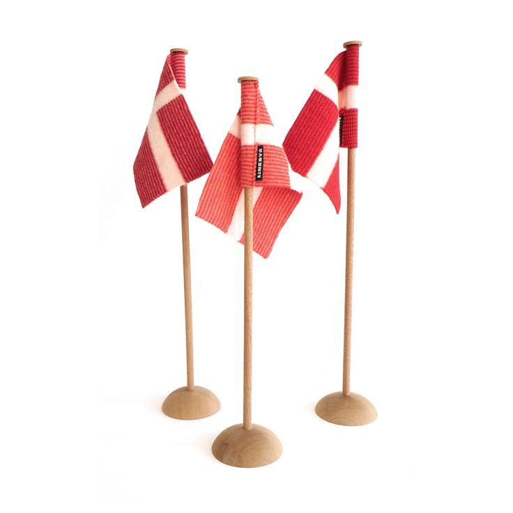 Bordflag - Linedyr - Højkant