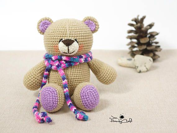 Plush teddy bear Girlfriend gift Stuffed bear lover gift Baby