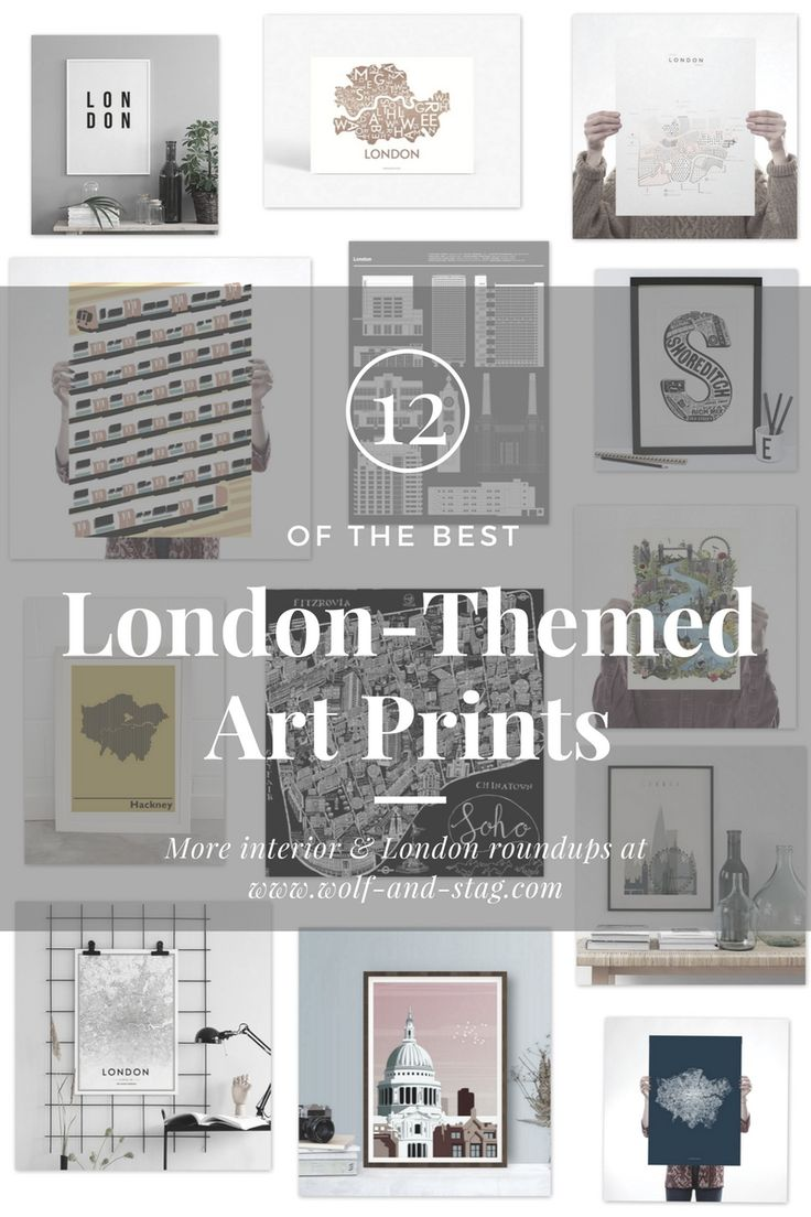 The Best London-Themed Art Prints to show your London Love | Wolf & Stag