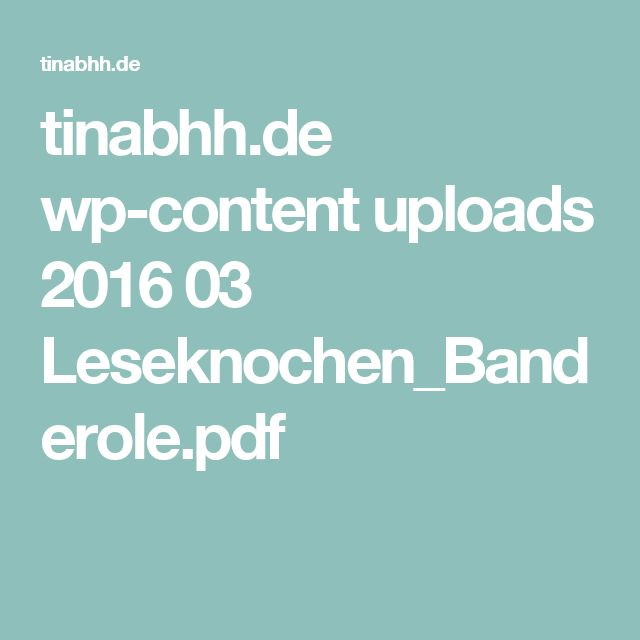tinabhh.de wp-content uploads 2016 03 Leseknochen_Banderole.pdf