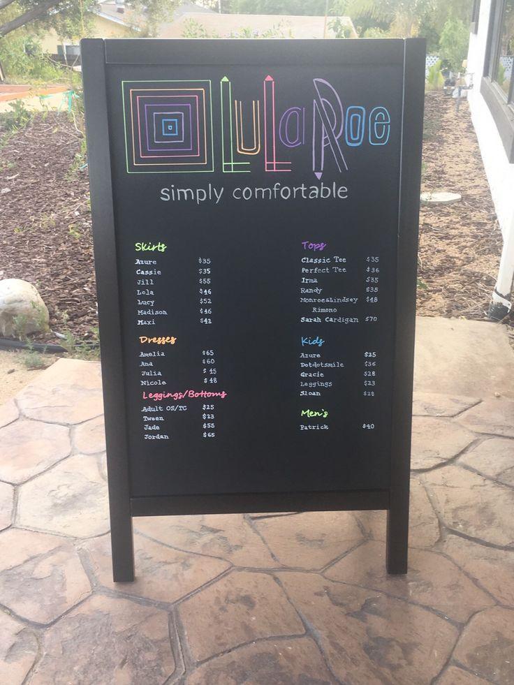 LuLaRoe price list ~ Wildflower Farms CA ~ etsy                    https://www.etsy.com/listing/287828323/34x21-lularoe-price-list-custom