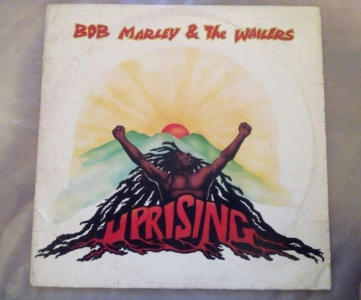 BOB MARLEY AND THE WAILERS Uprising 1980 Stereo Reggae Vynil LP VG+ made in USA