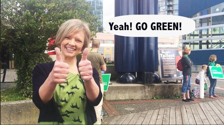 Video in which New Westminster Green Party candidate Jonina Campbell speaks about the Green Party's policy on accessible cycling.