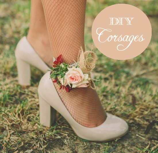 Great idea for the bridesmaids!!!!    DIY wedding corsages | full tutorial on oh lovely day