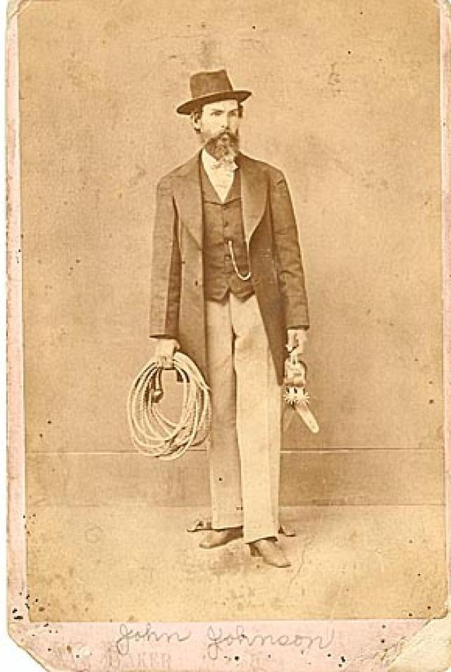 Cowboy gears salesman  c1880's