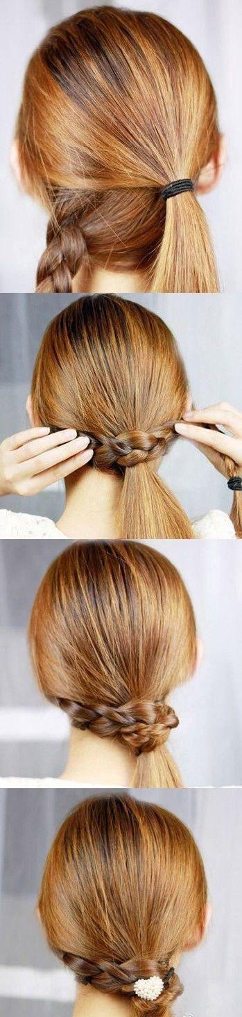 : Long Hair, Beautiful, Hairstyles Tutorials, Braids Ponytail, Hair Ties, Side Ponytail, Hair Style, Summer Hairstyles, Ponies Tail