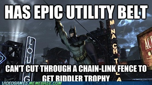 video game memes - But It's a Riddle, Batbro