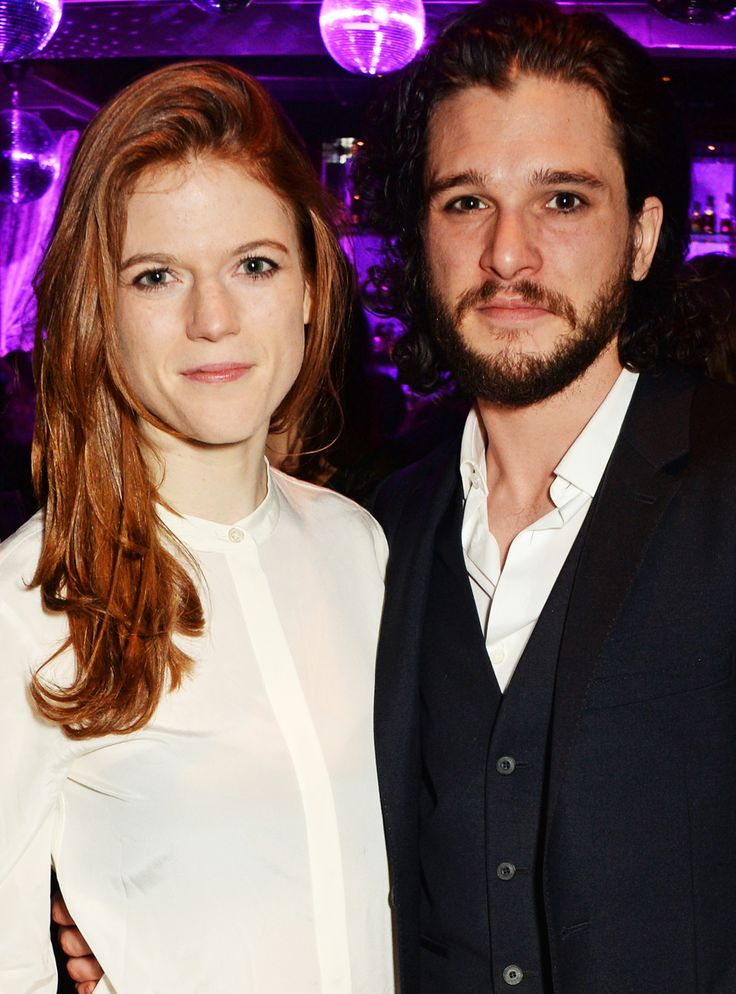 Kit Harington Amp Rose Leslie Were The Cutest Couple At