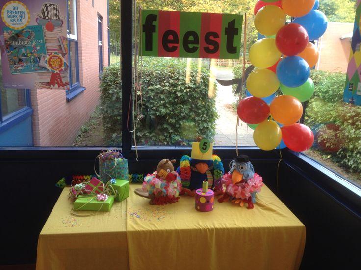 Kijktafel Kinderboekenweek feest!!