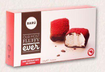 Baru 9 Marshmallows Dark Chocolate Red Berries 4.23oz - http://bestchocolateshop.com/baru-9-marshmallows-dark-chocolate-red-berries-4-23oz/
