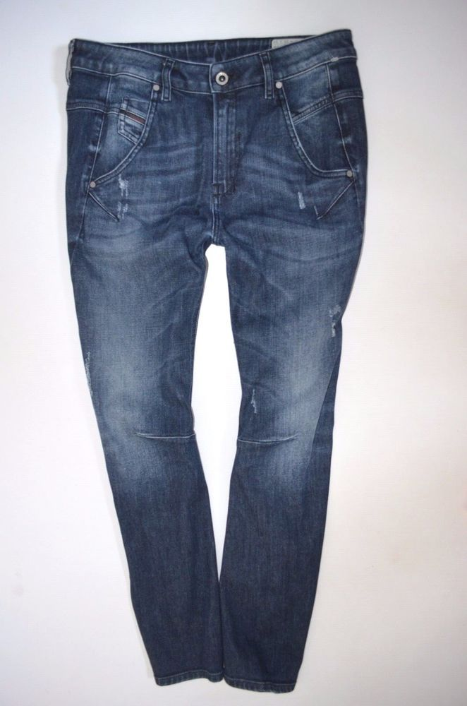 "NEW Ladies DIESEL FAYZA 0842R Low BOYFRIEND JEAN woman size W28 L34 uk 10 34""leg"