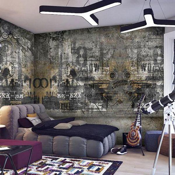 20 Impressive Graffiti Bedroom Decorating Ideas Home Design And Interior Graffiti Bedroom Old Wall Graffiti Wall