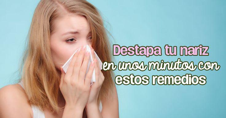 4 remedios caseros que no te puedes perder para la congestión nasal