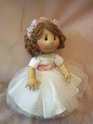 SOCORRO VASCONCELOS: Bonecas para daminhas