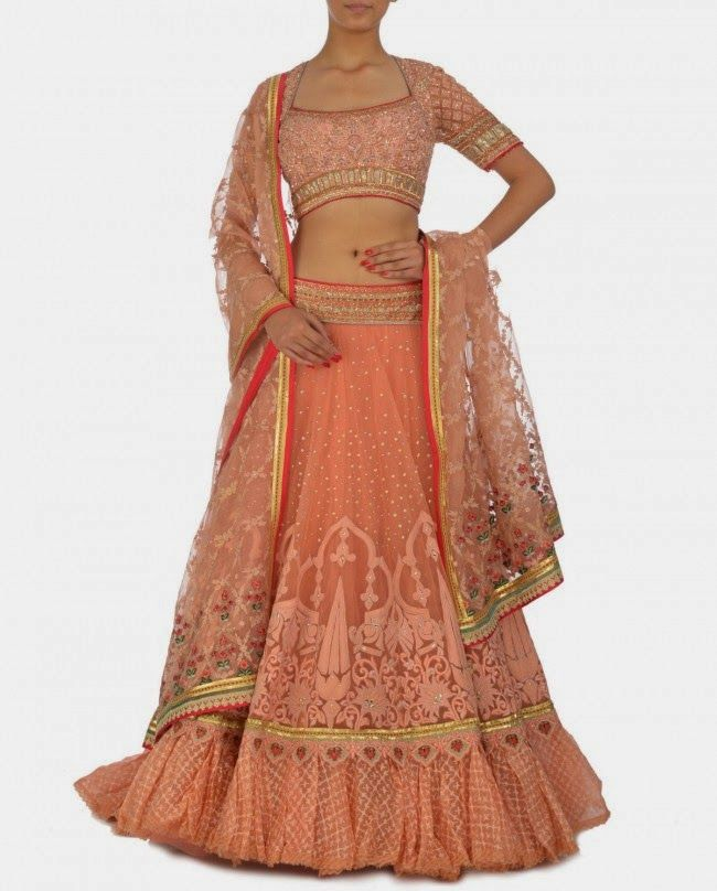 Fashion: Bollywood Designer Tarun Tahiliani's Best Wedding Lehengas 2014