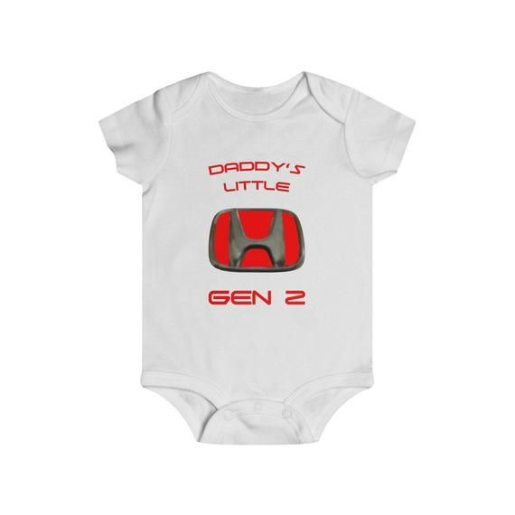 Proud Clothing Babys Bodysuit Romper Jumpsuit Baby Clothes Outfits Honda Logo