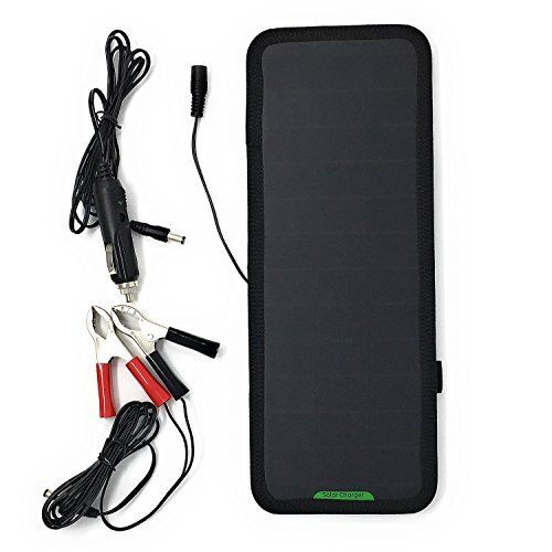 GIARIDE 18V 12V 7.5W Solar Car Battery Charger Sunpower Solar Panel Maintainer Backup for Car Boat RV Tractor Motorcycle and Auto Batteries - Why Choose GIARIDE Solar Car Battery Charger Maintainer? GIARIDE 12V Solar Car Battery Charger is the perfect solution for charging the batteries of car, motorcycles, automobiles, snowmobiles, tractors and more by solar when the battery is in the state of losing power and power shortage, maintain...