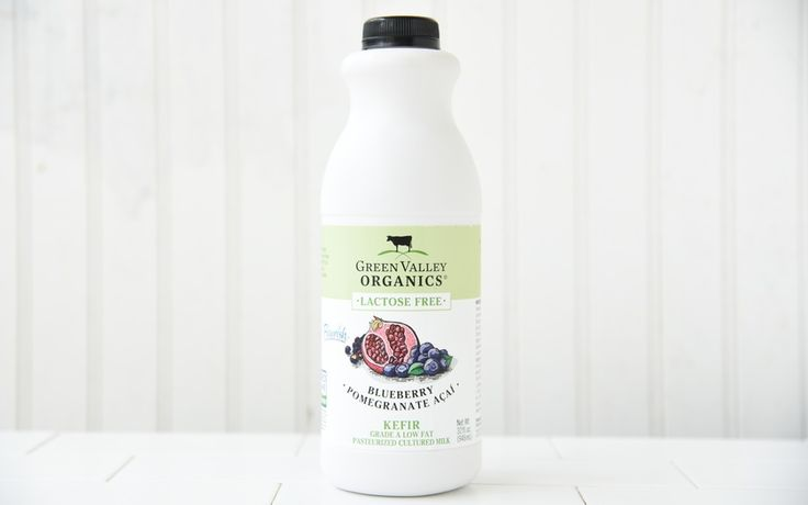 Green Valley Organics Organic Lactose Free Blueberry Pomegranate Kefir