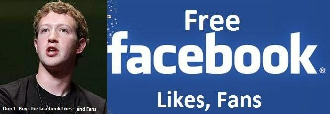 How to increase facebook fan page likes and views for free