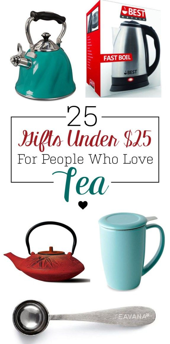 Here's all the gift ideas you need if you know someone who loves tea!