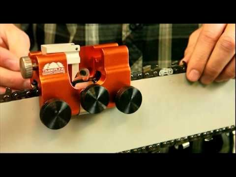 How to use Timberline Chainsaw Sharpener