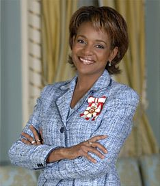 Governor General Michaelle Jean, the first Black Governor of Canada