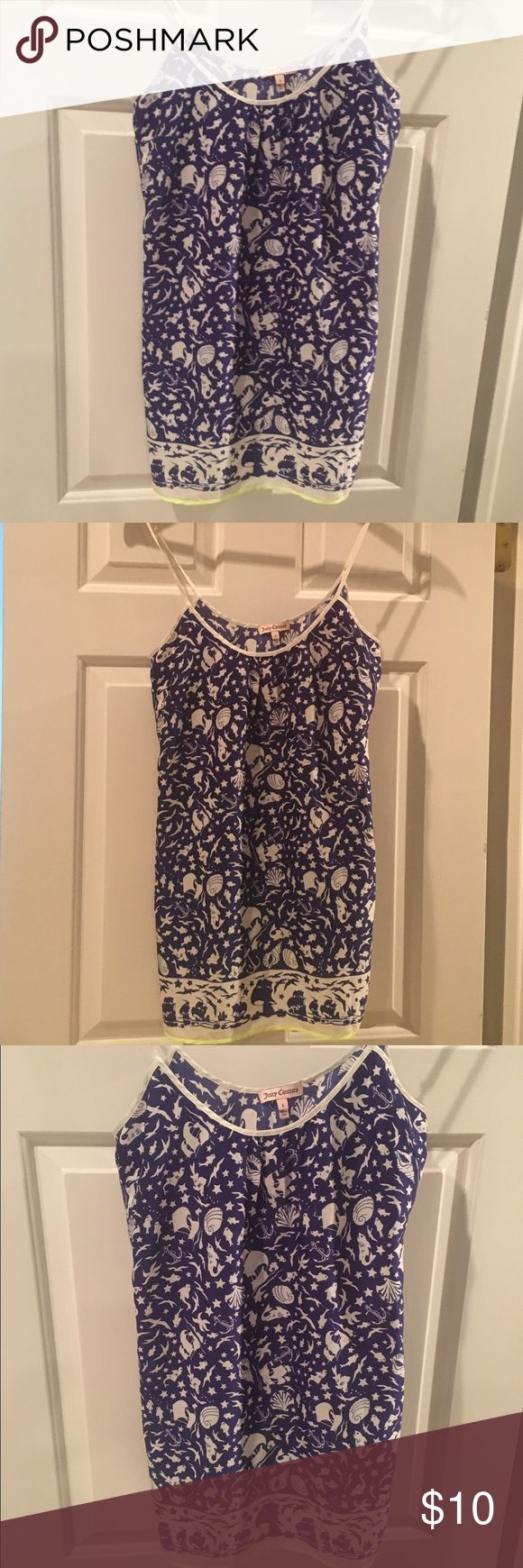 Juicy Couture Pajama  Sleep pretty like The Little Mermaid with this silly soft pajama from Juicy Couture  US Size: S. Material: Polyester. Juicy Couture Intimates & Sleepwear Chemises & Slips