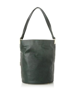 50% OFF French Connection Women's Hang Loose Hobo, Jewel Green Snake