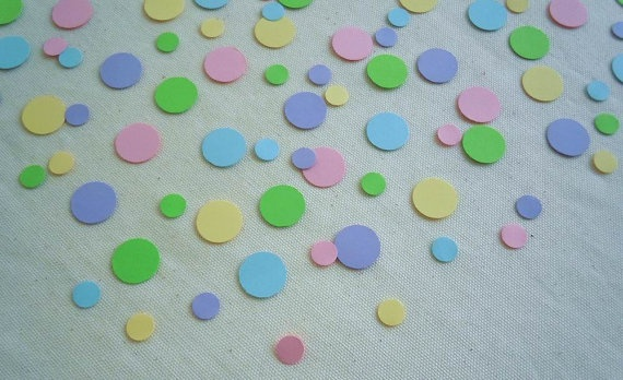 """Dotty Pastels"" 